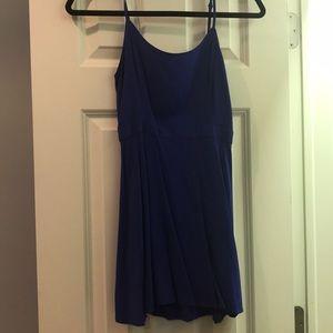 Short indigo day dress
